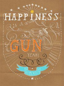 Happiness bunt