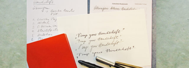 Header Pimp your Handschrift