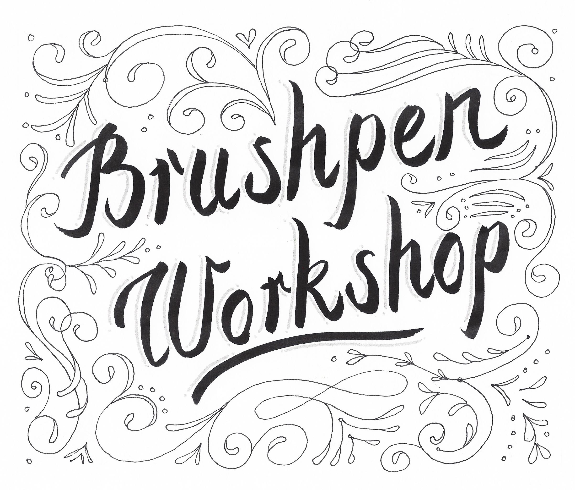 brushpen-workshop-flourishing